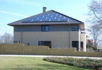 Zonnepanelen West-Vlaanderen