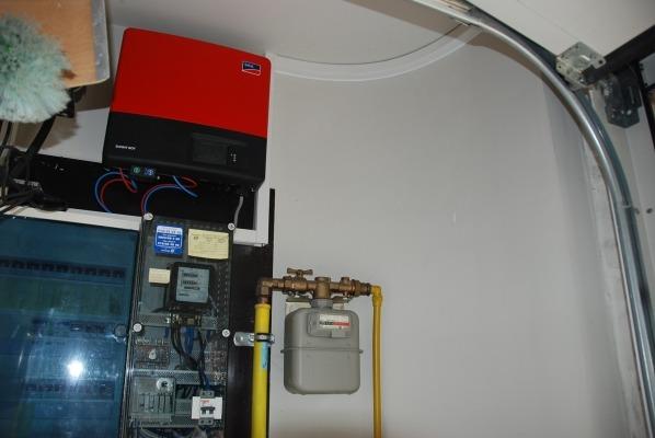 Realisatie 18 panelen REC 275 met SMA omvormer SB4000TL-20