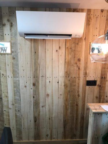 Realisatie Daikin lucht lucht warmtepomp Leopoldsburg