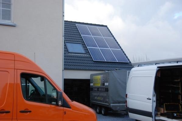 Realisatie zonnepanelen REC 275 te Zelem