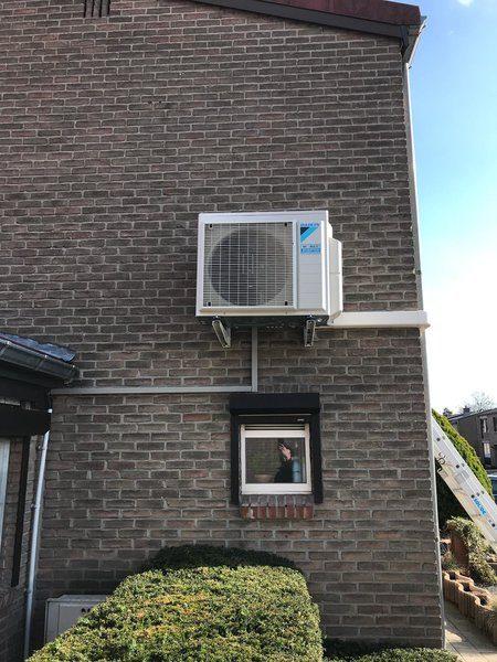 Realisatie Daikin warmtepomp Houthalen-Helchteren