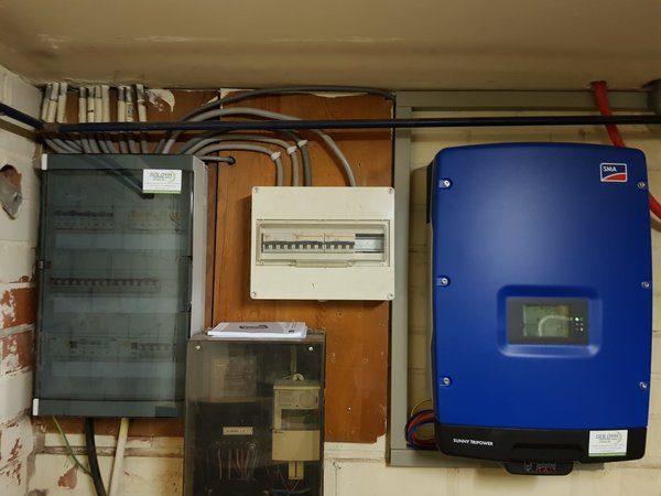 38 REC320 N-Peak Mono zonnepanelen met SMA omvormer STP8000TL-20