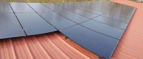 Realisatie 40 zonnepanelen Peimar 300 mono All black met SMA omvormer STP8000TL-20 te Beringen