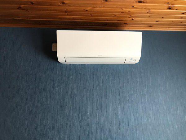 Realisatie Daikin warmtepomp-airco luchtlucht te Helchteren