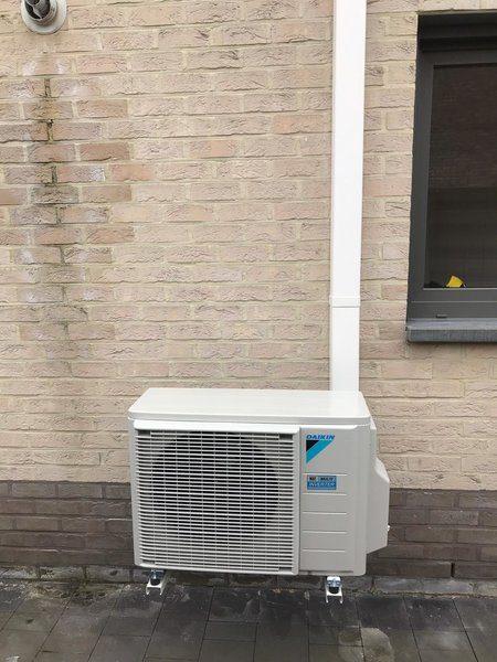 Realisatie Daikin warmtepomp-airco lucht/lucht te Neerpelt