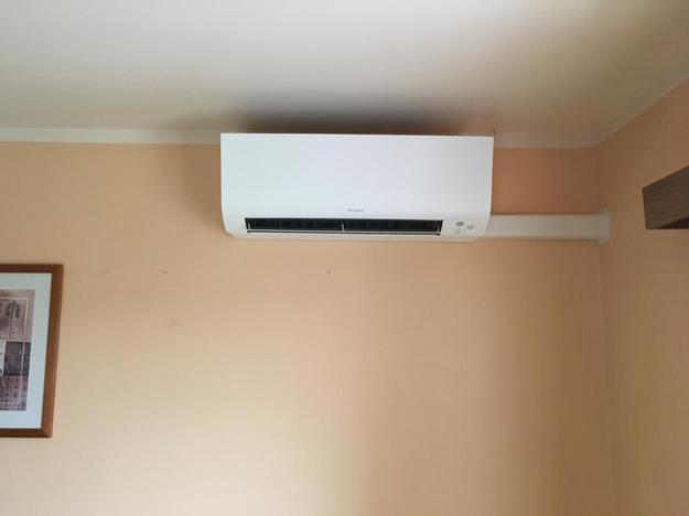 Realisatie Daikin Perfera aircowarmtepomp luchtlucht bestaande uit 2 binnenunits en 2 buitenunits te Kortenaken