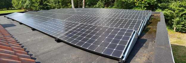 Realisatie 30 zonnepanelen LG 340 Wp met SMA omvormer STP6.0 te Geel