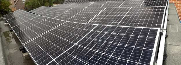 Realisatie 25 zonnepanelen REC 320 Wp met SMA omvormer SB5.0 te Bocholt