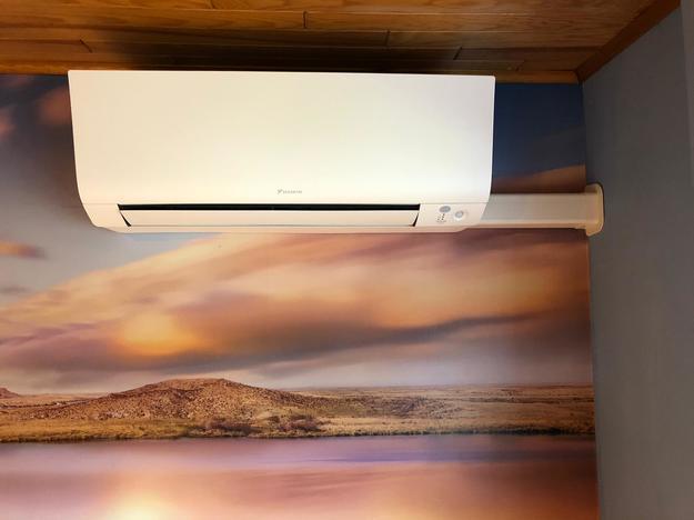 Realisatie Daikin Emura - Perfera aircowarmtepomp luchtlucht bestaande uit 4 binnenunit en 1 buitenunit te Balen