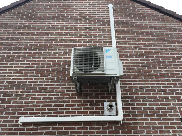 Realisatie Daikin Perfera aircowarmtepomp luchtlucht bestaande uit 4 binnenunits en 2 buitenunits te Tessenderlo