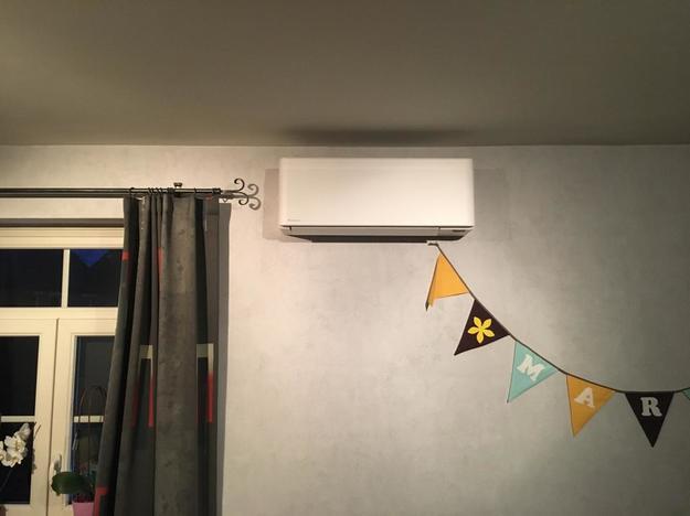 Totaalproject Daikin Stylish + Perfera aircowarmtepomp en 13 zonnepanelen REC 315 Wp Full BLack met SMA Omvormer SB3.6 te Waanrode