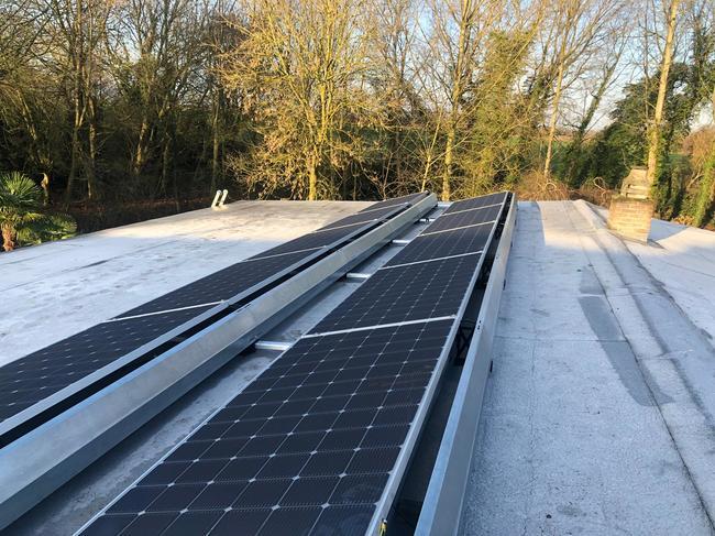 Realisatie 10x LG 400 zonnepanelen met SMA omvormer SB3.0 te Ternat