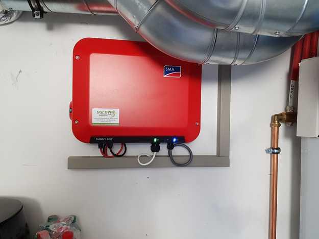 Totaalproject Daikin aircowarmtepomp met zonnepanelen in 3 woningen te Antwerpen