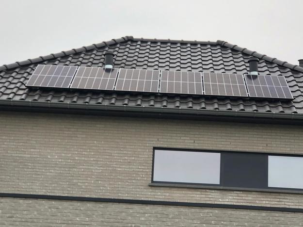 Goed voor een jaarlijkse groene stroomproductie van circa 4.700 kWh.