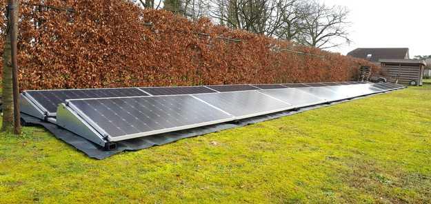 Realisatie 22x LG 400 zonnepanelen met SMA omvormer STP10.0 te Zonhoven