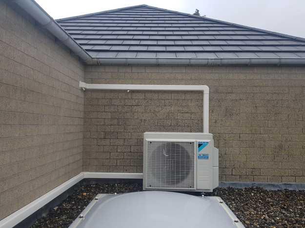 Realisatie Daikin Perfera multisplit aircowarmtepomp te Sint-Job-in-'t-Goor