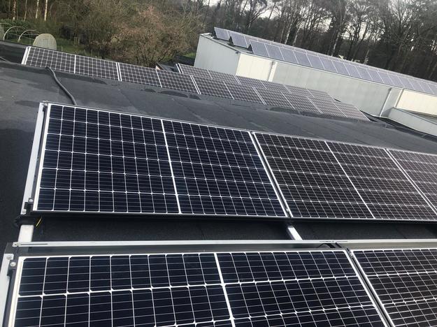 Realisatie 16x REC 325 zonnepanelen met SMA omvormer SB3.6 te Heusden-Zolder
