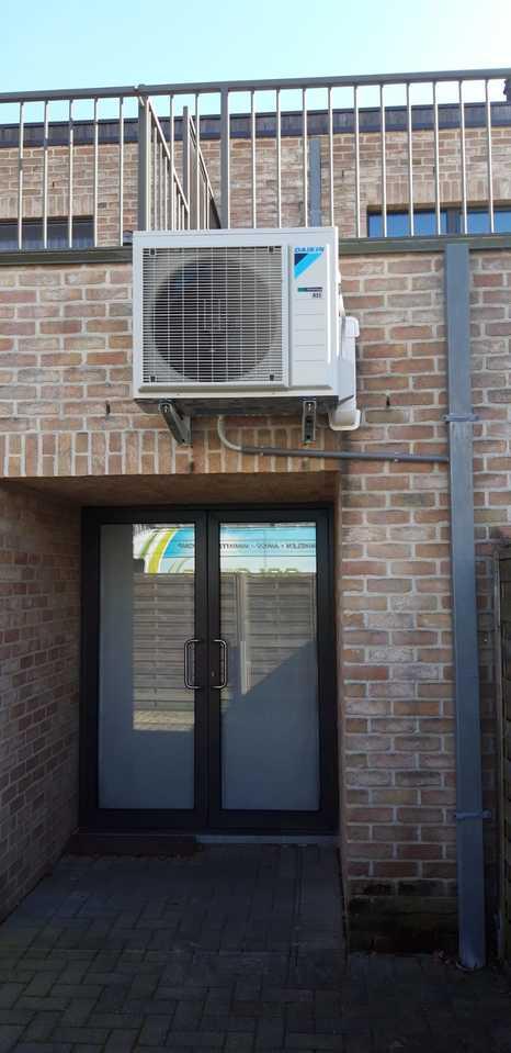 Realisatie Daikin Comfora single split aircowarmtepomp te Balen