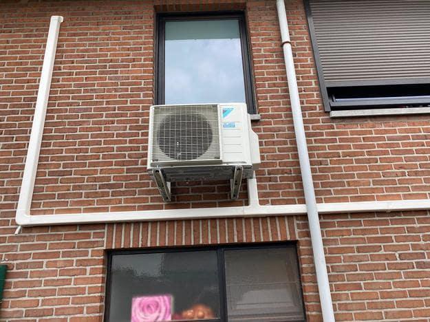 Realisatie Daikin aircowarmtepomp summerdeal met 2 Perfera binnenunits te Peer