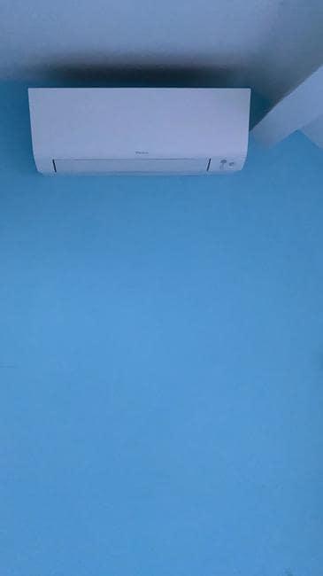 Realisatie Daikin multisplit aircowarmtepomp met 4 Perfera binnenunits te Rotselaar