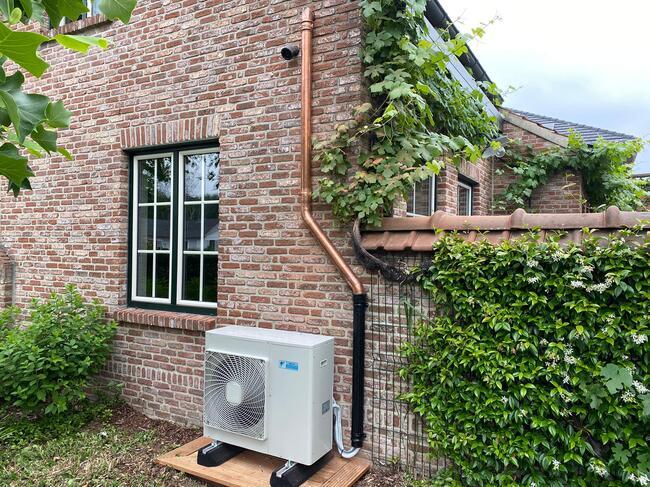 Realisatie Daikin multi split aircowarmtepomp met 2 Nexura binnenunits te Diepenbeek