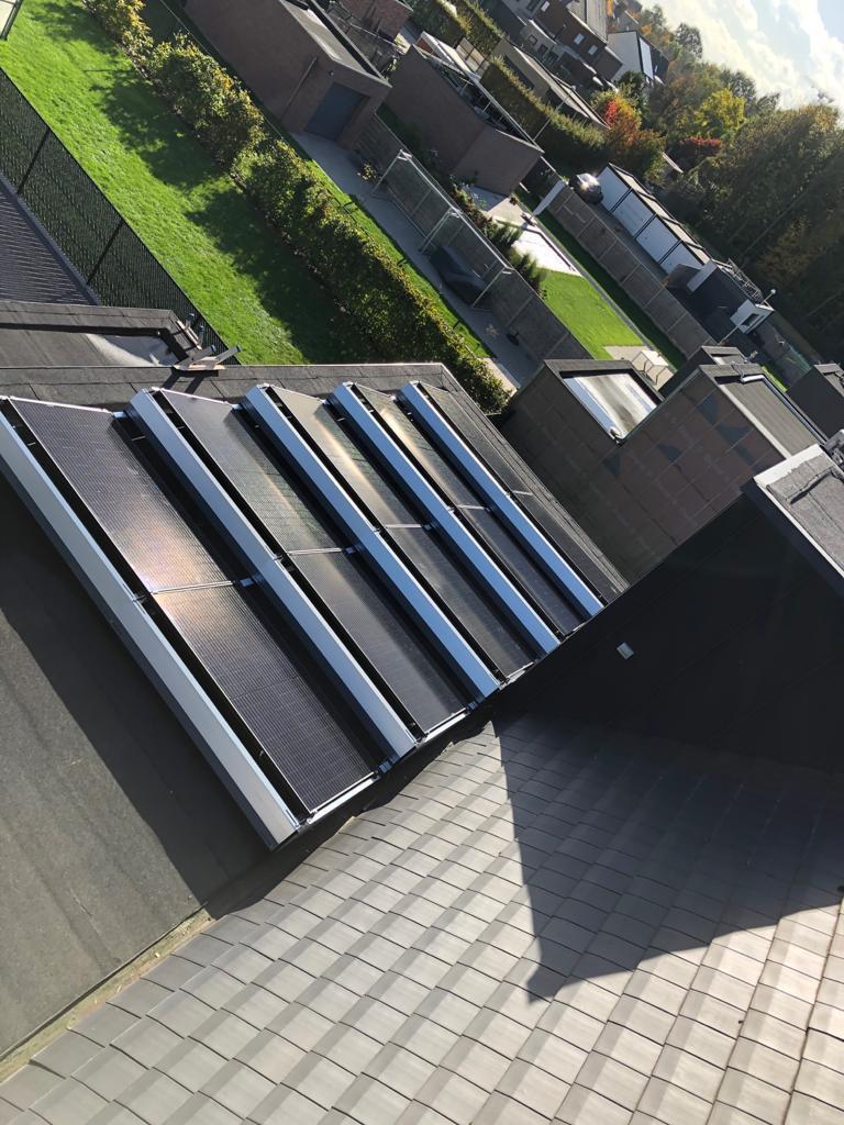 Realisatie 20x REC 320 Full Black zonnepanelen met SMA omvormer SB4.0 te Lier