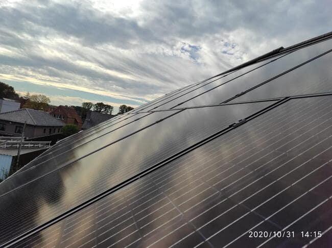 Realisatie 22x REC 320 Full Black zonnepanelen met SMA omvormer SB5.0 te Zolder