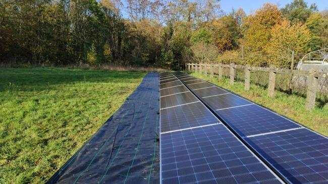 Realisatie 25x LG zonnepanelen 405 Bifacial met SMA omvormer STP8.0 te Leuven