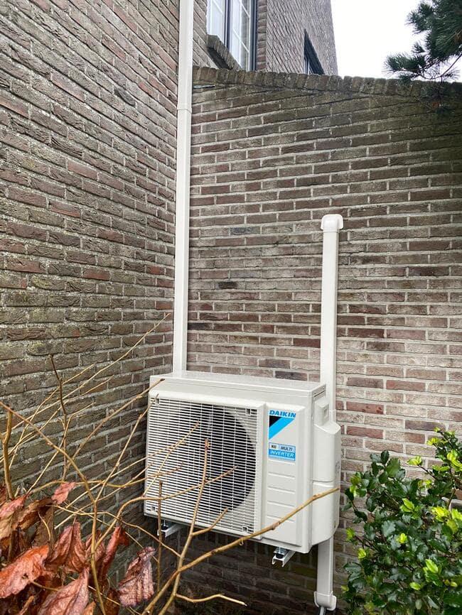 Realisatie Daikin aircowarmtepomp met 2x Perfera binnenunits te Lommel