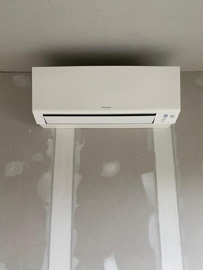 Realisatie Daikin aircowarmtepomp met 3x Perfera binnenunits + 1x single split Perfera te Balen