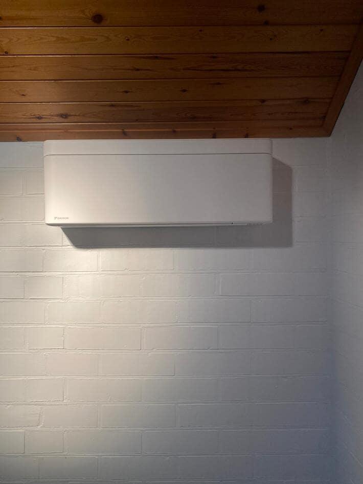 Realisatie multisplit aircowarmtepomp met 3x Daikin Stylish wit binnenunits te Lommel