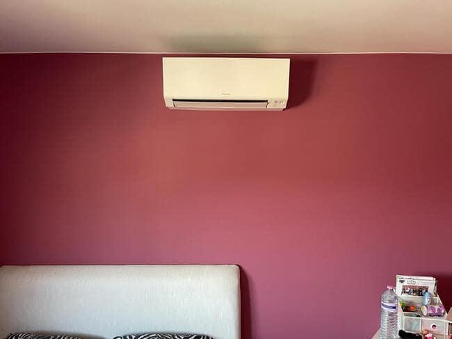 Realisatie Daikin multisplit aircowarmtepomp met 5 binnenunits Perfera + Stylish te Heusden-Zolder