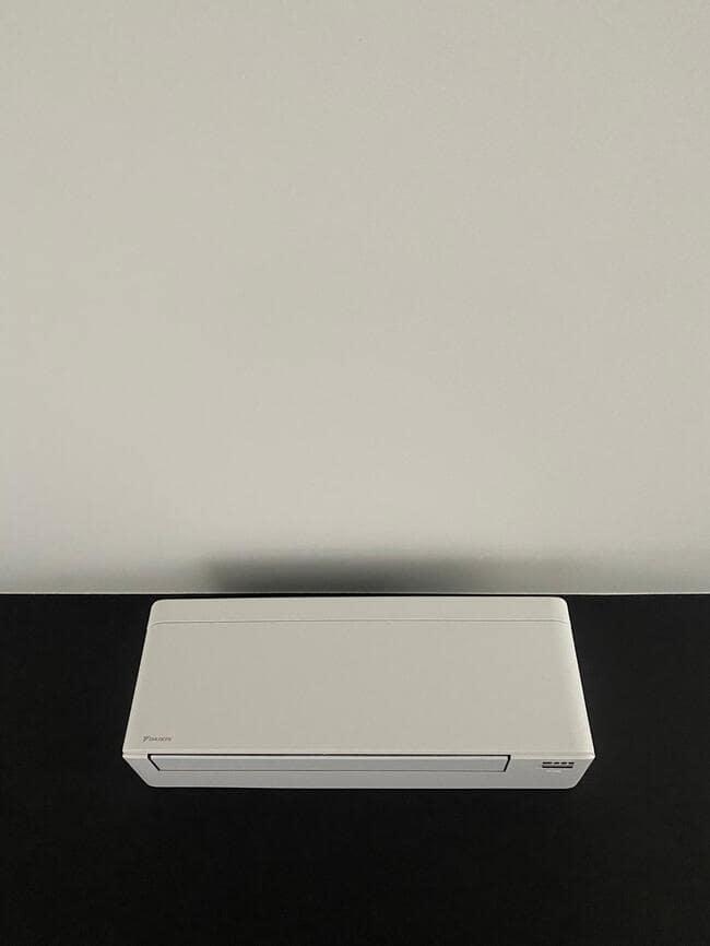 Realisatie Daikin multisplit aircowarmtepomp met 2 Stylish wit binnenunits te Geel